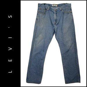 Levi's 505 Men Denim Regular Fit Cotton Jeans 38